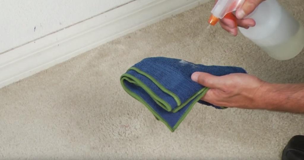Removing Dry Nail Polish From Carpet Image